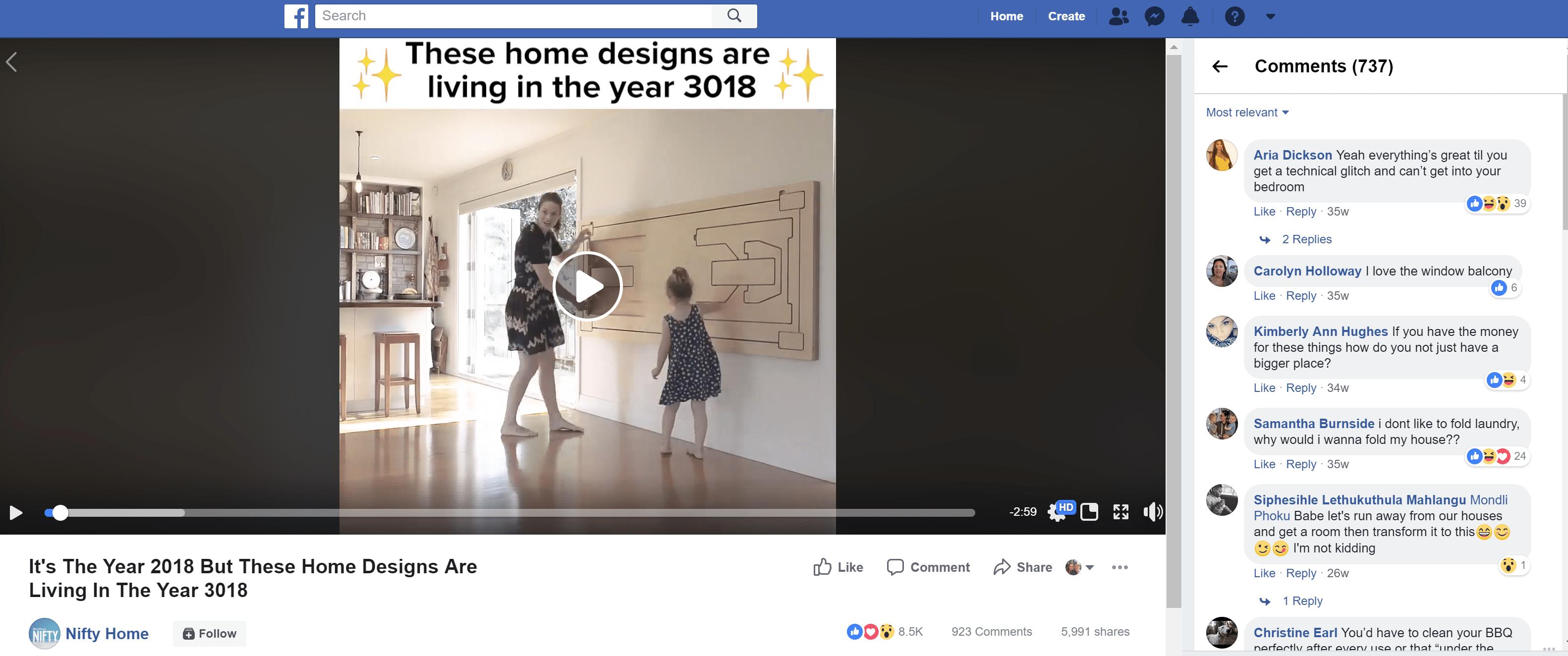 interior design social media tips