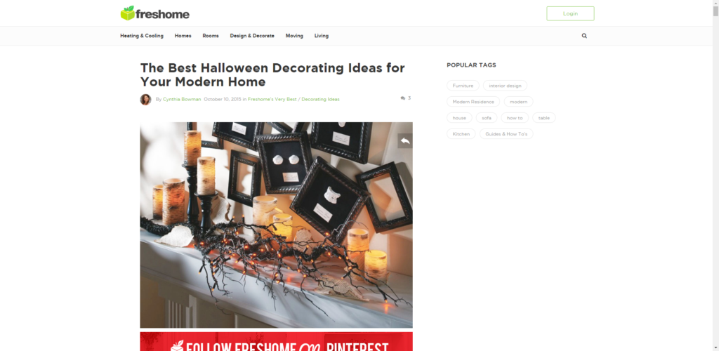 seasonal interior design blog post ideas