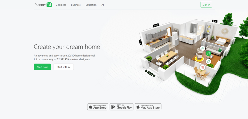 Dream home 3d software, free download version
