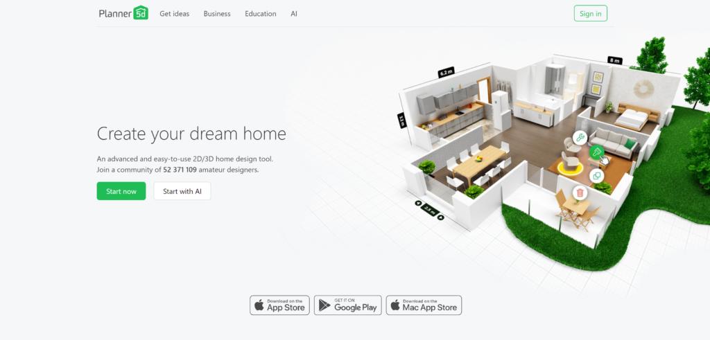 5d interior design software