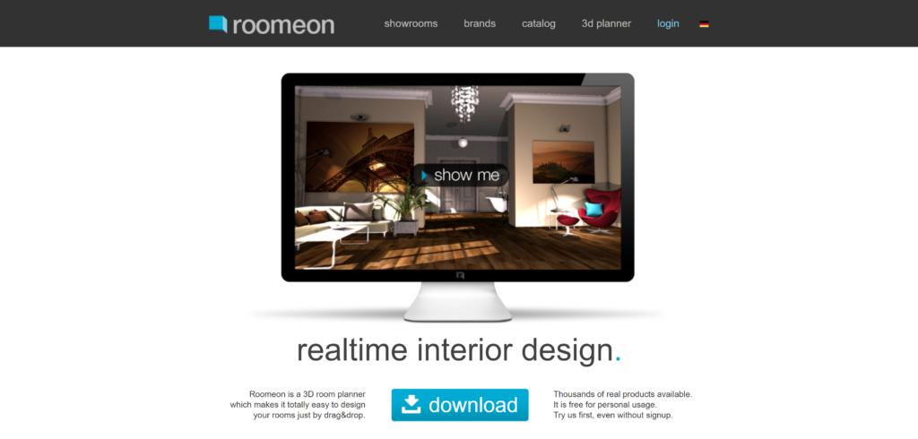 roomeon interior design tool