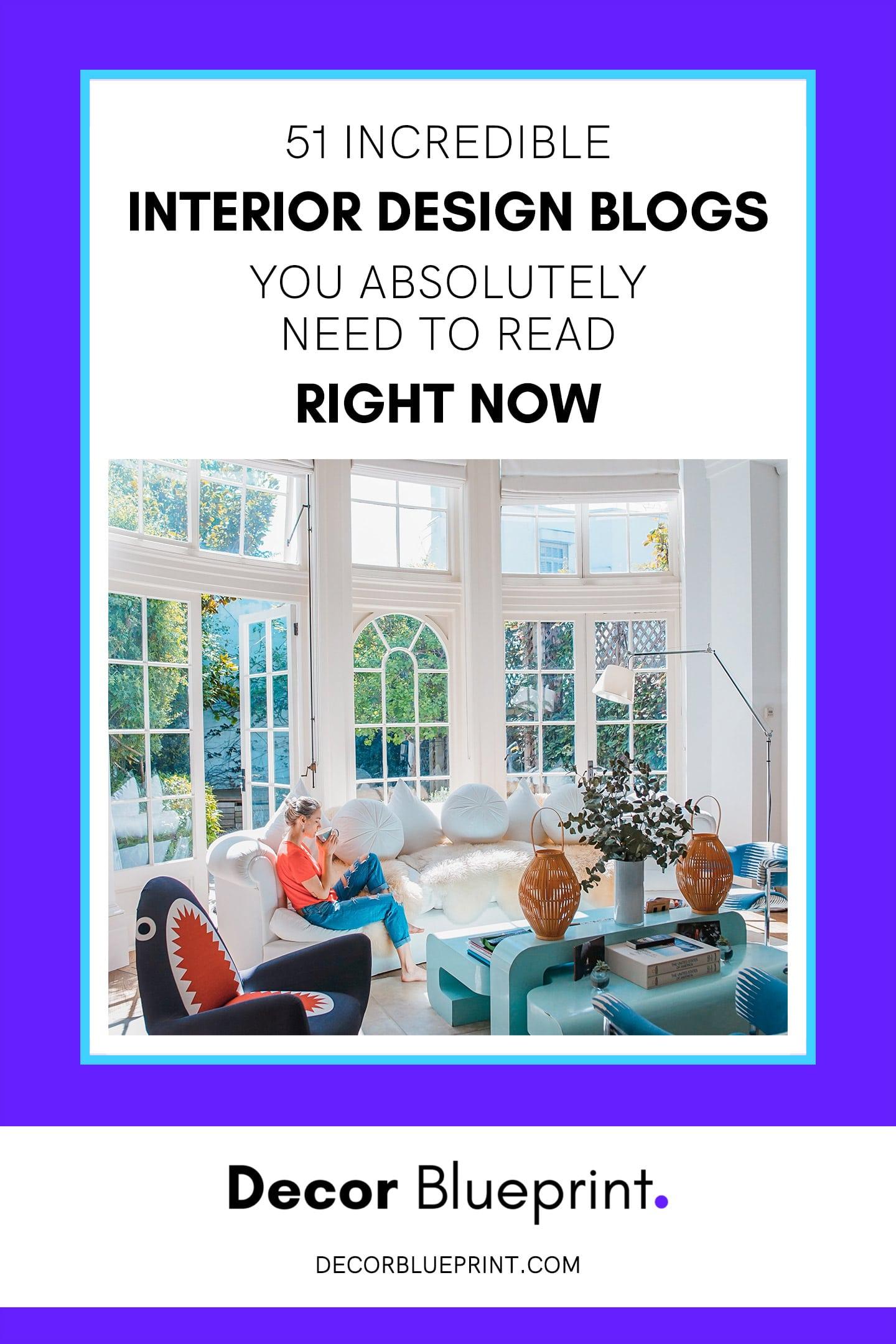 best interior design blogs 2020