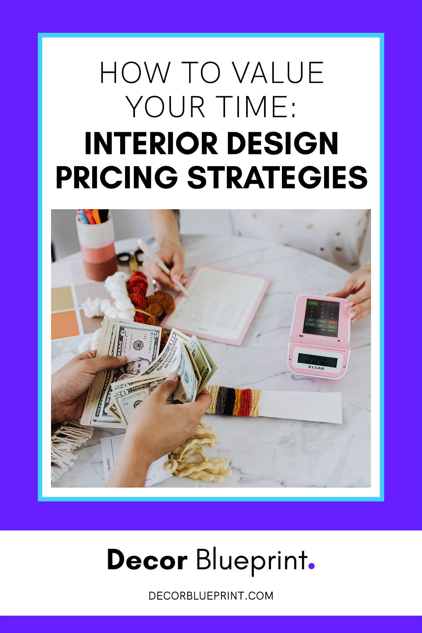 how to price interior design services